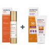 Sesderma PACK Repaskin SILK Touch, 50 ml + C-VIT Radiance Fluido Luminoso, 50 ml