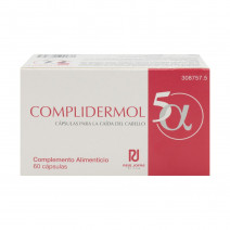 Complidermol 5Alfa, 60 capsulas