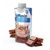Bimanan Sustitutive Batido Sabor Chocolate, 330ml