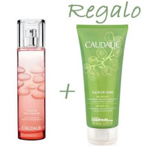 Caudalie Colonia Figue Vigne 50ml + Gel Fleur 200m