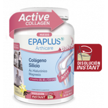 Epaplus Arthicare Silicio + Colageno +  Hialuronico + Magnesio + Calcio Sabor Vainilla 383g