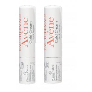 Avene Duplo Cold Cream Stick Labial 2x4g