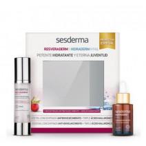 Sesderma PACK Resveraderm Antiox Crema-Gel, 50 ml + Hidraderm Hyal Serum, 30 ml
