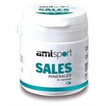 Ana Maria LaJusticia Amlsport Sales Minerales, 25 cápsulas