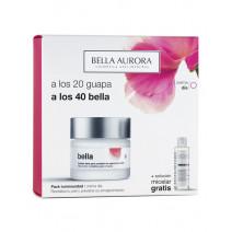 Bella Aurora PACK Tratamiento Antiedad Dia SPF20 50ml+ REGALO Solucion micelar, 150 ml