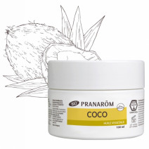 Pranarom Aceite Vegetal de Coco BIO, 100 ml