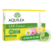 Aquilea LAX Enemas Con Manzanilla Y Malva, 6enemas unidosis