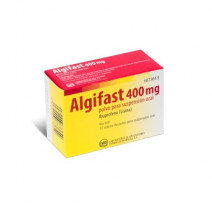 ALGIFAST 400 MG 12 SOBRES POLVO SUSPENSION ORAL