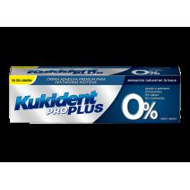 Kukident Pro Plus Crema Adhesiva Premium Para Dentaduras Postizas, 40g