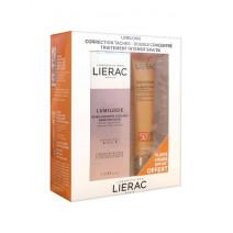 Lierac Lumilogie Día y Noche Corrección Manchas, 15+15ml + Sunissime SPF50, 40 ml