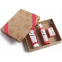 Klorane Cofre Hibiscus Crema Ducha 200 ml+Leche Corporal 200 ml+ Jabon Crema 100g