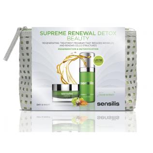 Sensilis PACK Supreme Renewal Detox Crema dia 50 ml+ Supreme Renewal Detox Noche 30 ml