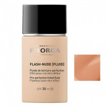 Filorga Flash-Nude Fluido Color Pro-perfeccionador Tono Gold SPF30, 30ml