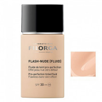 Filorga Flash-Nude Fluido Color Pro-perfeccionador Tono Beige SPF30, 30ml