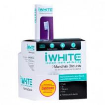 Iwhite Kit de Blanqueamiento Dental Manchas Oscuras, 10moldes+REGALO Cepillo Blanqueador, 1ud