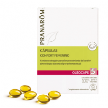 Pranarom Oleocaps 5 Confort Femenino 30 cápsulas
