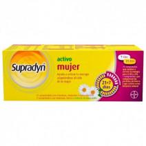 Supradyn Activo Mujer Ciclo Menstrual Vitaminas Energía 21+7 comprimidos