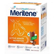 Meritene Active Fibra Senior Batidos Sabor Chocolate 14sobres