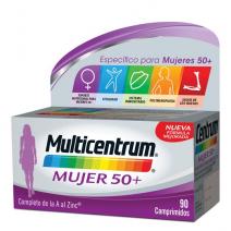 Multicentrum Mujer 50r+ , 90 comprimidos