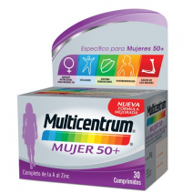 Multicentrum Mujer+ , 30 comprimidos