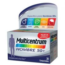 Multicentrum Hombre 50+  , 30 comprimidos