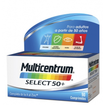 Multicentrum Select 50+ , 90 comprimidos
