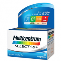 Multicentrum Select 50+ , 30 comprimidos