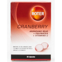 Roter Cramberry Arandano Rojo Equinacea y Vit C, 30 cap