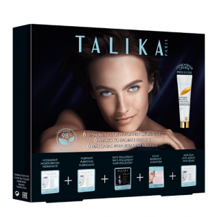 Talika PACK Piel Luminosa 6 Mascarillas