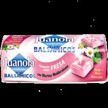 Juanola Caramelos Fresa Vitamina C y Hierbas Medicinales, 32.4 g