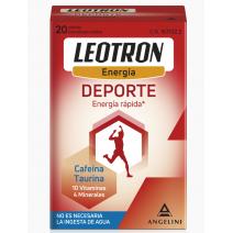 Angelini Leotron Deporte, 20 sobres bucodispersables