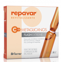 Repavar Revitlizante Ampollas Efecto Flash, 5u