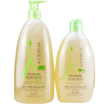 Aderma PACK Gel Surgrass, 750 ml + 500 ml