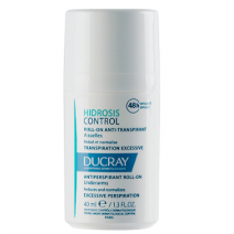Ducray Hidrosis Control Axilas Roll-On Anti-Transpirante, 40 ml