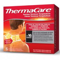 ThermaCare Parche Térmico Terapeutico Cuello, Hombros y Muñecas, 6u