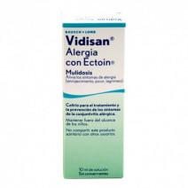 VIDISAN ALERGIA CON ECTOIN COLIRIO MULTIDOSIS 10 ML