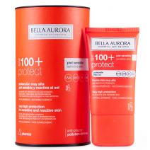 Bella Aurora Protect Solar Antimanchas SPF100+ Piel Sensible y Reactiva al Sol, 40ml
