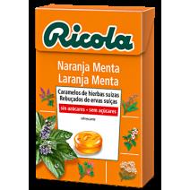 Ricola Caramelos Sin Azucar Naranja Menta 50 g
