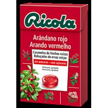 Ricola Caramelos Sin Azucar Arándano Rojo 50g