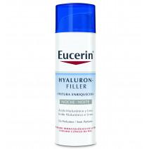 Eucerin Hyaluron Filler Textura Enriquecida Noche, 50 ml