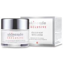 Skincode Exclusive Celular Noche Afina y Repara, 50ml