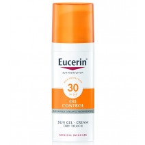 Eucerin Solar Facial SPF30 Gel-Crema Toque Seco, 50ml