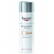 Eucerin Hyaluron Filler CC Cream Tono Medio, 50ml