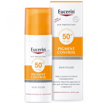 EUCERIN SUN PROTECTION 50+ FLUID PIGMENT CONTROL 50 ML