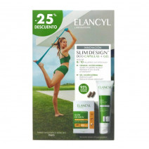 ELANCYL SLIM DESIGN DUO CAPSULAS REDUCTORA + GEL PACK 60 CAPSULAS + 150 ML