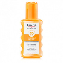 Eucerin Solar Protection Spray Transparente SPF 30, 200 ml