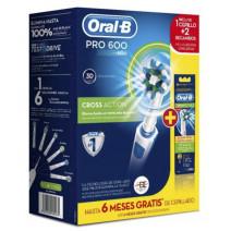 ORAL B CEPILLO ELECTRICO PRO600 CROSS ACTION