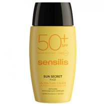 Sensilis Sun Secret Ultra Color Fluido Facial SPF50+, 40ml