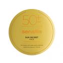 SENSILIS SUN SECRET PROTECTOR SOLAR SPF50+ MAQUILLAJE COMPACTO FACIAL 01 NATURAL, 10G