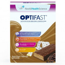 Optifast Barritas Cappuccino 6u